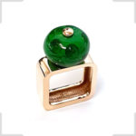 Carrousel-bronze-vert