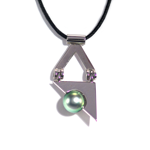 Pendentif-triangle-or-gris-perle